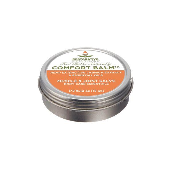 15 ml tin of Restorative Botanicals Comfort Balm