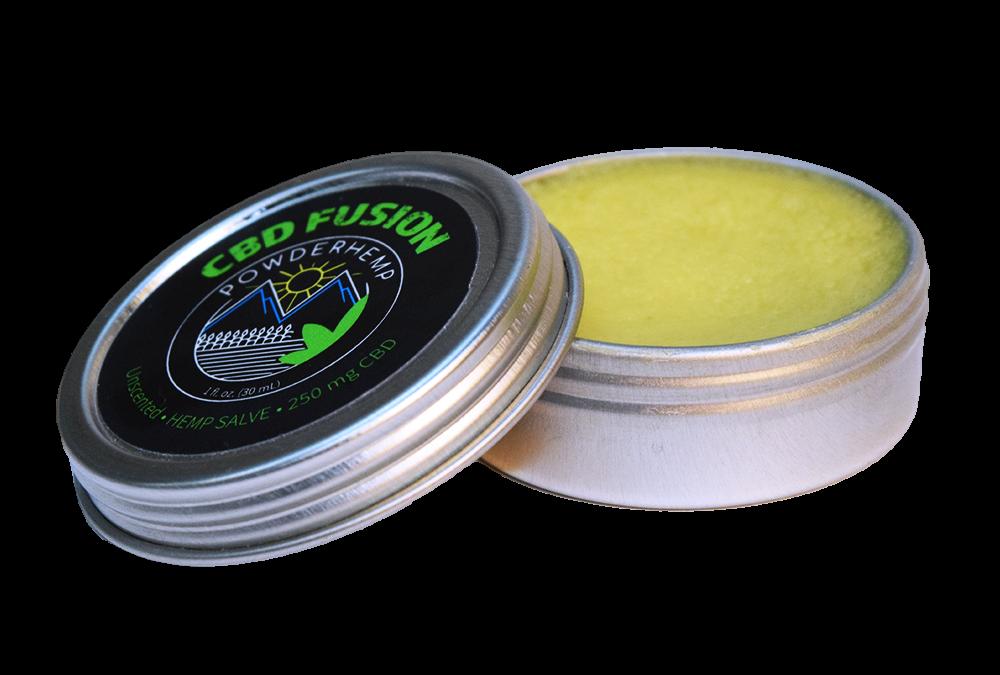 POWDERHEMP CBD Full Spectrum Hemp Extract Salve